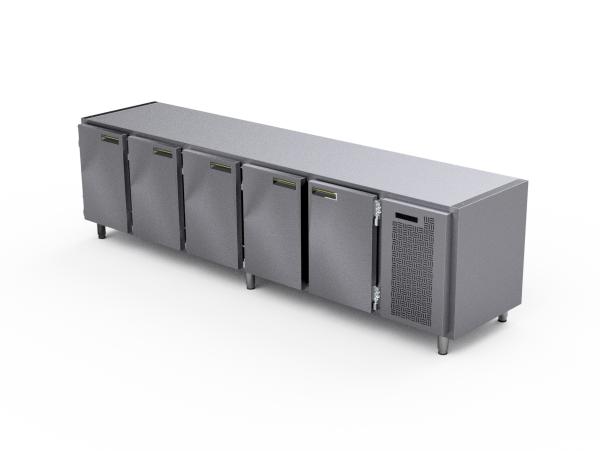koelwerkbank 5 deurs | AC Products